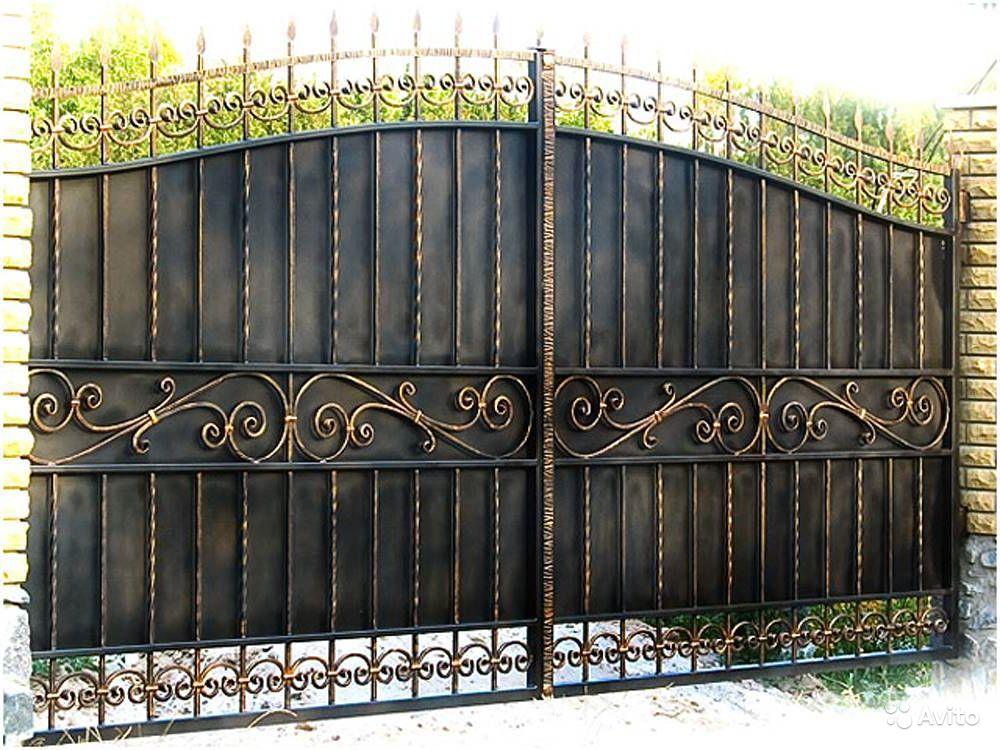 Ворота откатные автоматические дорхан
